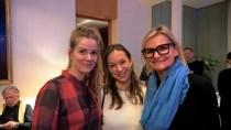Designerin Rebekka Ruetz, Anja Kaltenbach, Stadtgespräch PR und Journalistin Hedi Grager (Foto Reinhard Sudy)
