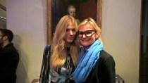 Model Larissa Larolt und Journalistin Hedi Grager (Foto Reinhard Sudy)