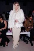 Blogger Xenia Overdose besuchte die Show von Designer Marcel Ostertag in New York City. (Photo by Brian Ach/Getty Images)