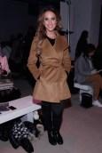 Laren Sims besuchte die Show von Marcel Ostertag auf der Fashion Week New York (Photo by Brian Ach/Getty Images)