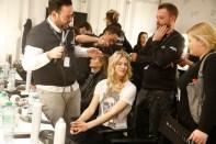 Larissa Marolt Sportalm Fashion Show auf der Mercedes - Benz Fashionweek Berlin (Agency People Image (c) Jessica Kassner)