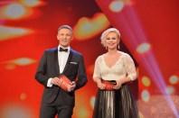 Romy 2016: Die ROMY-Moderatoren Katharina Straßer und Andi Knoll (Foto Kurier)