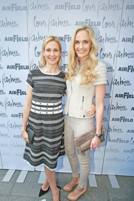 Kelly Rutherford und Patricia Kaiser (Foto Philipp Enders)