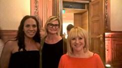 Barbara Becker, Hedi Grager und Patricia Riekel - Leading Ladies Award 2016 (Foto Reinhard Sudy)
