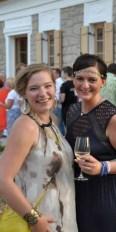 Stefanie Jost (re) am Sommerfest von STYLE UP YOUR LIFE! (Foto LEIBNITZ AKTUELL)