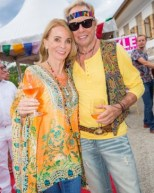 Peter Kraus und seine Gattin - STYLE UP YOUR LIFE! Sommerfest OBEGG 26. (Foto STYLE UP YOUR LIFE/Moni Fellner)