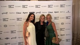 Fashion for Europe in der Wiener Staatsoper - Gabi Leger, Hedi Grager und Sandra Schranz (Foto FLASHED Events)