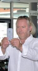 Selfie von und mit Gregor Seberg (Foto Reinhard Sudy)