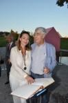 Aglaia Szyszkowitz (Filmschauspielerin) mit Vater Univ. Prof. Dr. Rudolf Szyszkowitz (Foto Reinhard Sudy)