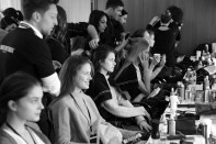 Backstage bei Marc Cain in Berlin (Foto Marc Cain)