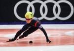 GRAZ,AUSTRIA,19.MAR.17 - SPECIAL OLYMPICS, SPEED SKATING - World Winter Games, 777m. Image shows Seung-Hyeop You (KOR). Photo: GEPA pictures/ Christian Walgram