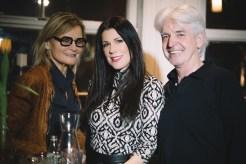 STIN Gin. Journalistin und Bloggerin Hedi Grager, Aiola-Chefin Judith Schwarz und Journalist und Autor Reinhard Sudy (Foto Cafe Promenade)