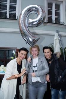 Ursula Meister, Daniela Gruber und Christa Hoff - 9 Jahre JOMA FASHION (Foto Jasmin Rathkolb)