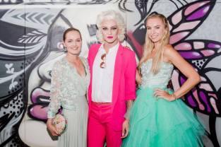 Eva Poleschinski, Gloria Hole und Nadine Friedrich - 5 Jahre STEIRERIN (Fotos Prontolux Thomas Luef Mia's Photo Art)