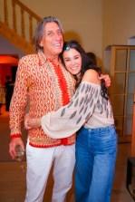 Top-Model Kerstin Lechner mit TV-Produzent Norbert Blecha - OBEGG Sommerfest von Adi Weiss und Michael Lameraner (Foto Moni Fellner)