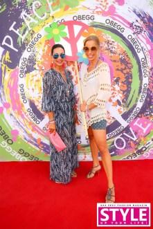 Marion Eichberger, comma Fashion - Gloria Hundsberger, PR International - OBEGG Sommerfest von Adi Weiss und Michael Lameraner (Foto Moni Fellner)