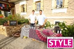 STIN - Styrian dry Gin: Firmenich & Jagerhofer - OBEGG Sommerfest von Adi Weiss und Michael Lameraner (Foto Moni Fellner)