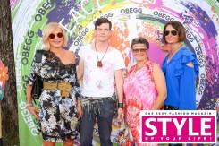 Fashion-Expertin Helga Kresnik, Max Kohlenberger, Johanna Kohlenberger und Elisabeth Wechtitsch - OBEGG Sommerfest von Adi Weiss und Michael Lameraner (Foto Moni Fellner)
