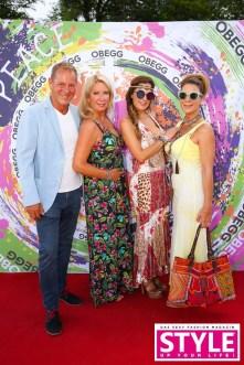 Hans uznd Grete Umschaden, Bettina Assinger und Claudia Ebner - OBEGG Sommerfest von Adi Weiss und Michael Lameraner (Foto Moni Fellner)