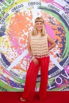 Schauspielerin Sonja Kirchberger - OBEGG Sommerfest von Adi Weiss und Michael Lameraner (Foto Moni Fellner)