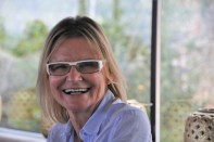 Hedi Grager - Präsentation des Gelben Muskatellers von Peter Kraus (Foto Reinhard Sudy)