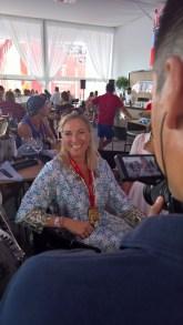 Beachtvolleyball WM 2017 in Wien. Die steirische Designerin Theresa Schöffel im Interview (Hedi Grager)