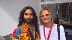 Zur Beachtvolleyball WM 2017 in Wien kam auch Conchita, hier mit Journalistin und Bloggerin Hedi Grager (Foto privat)