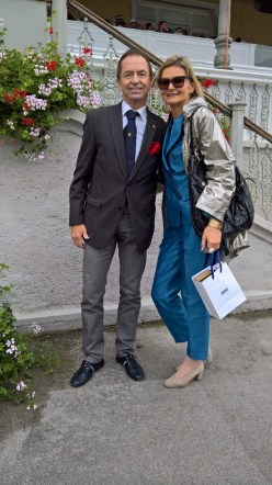 Vienna Ascot: Heri Kasper und Hedi Grager (Foto Reinhard Sudy)