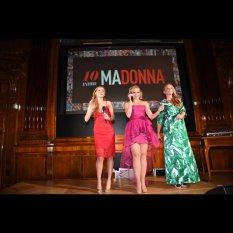 10 Jahre MADONNA - Sängerinnen Zoë Straub, Fräulein Mai (Missy May) und Vera Böhnisch (Foto Artner)