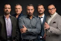 """Vorstadtweiber (III)"" - Jürgen Maurer, Bernhard Schir, Murathan Muslu, Philipp Hochmair, Thomas Stipsits (Foto ORF/Thomas Ramstorfer)"