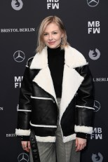 SPORTALM Show auf der MBFW Berlin, Jänner 2018 - Blogger Carolin Lauffenburger (Photo by Matthias Nareyek/Getty Images for Sportalm)