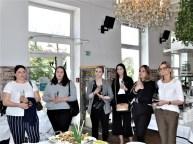 """Die NURI-Ölsardine jetzt auch im """"Speisesaal"""" des Hotel Wiesler (Foto Reinhard Sudy)"""