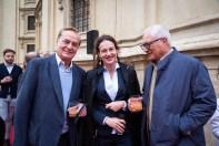 Rudi Roth mit Gattin und Manfred Herzl (Foto GEOPHO - Jorj Konstantinov Photography)