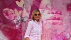Journalistin und Bloggerin Hedi Grager - pink&white Event am Gut Pössnitzberg (Foto Reinhard Sudy)
