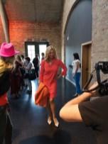 Schauspielerin Veronica Ferres bei der Marc Cain Show in Berlin (Foto Hedi Grager)