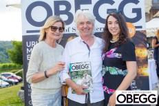 Sommerfest OBEGG - Best of Südsteiermark und LOISIUM - Hedi Grager, Reinhard Sudy und Sandra Suppan (Foto Moni Fellner)