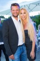 Sommerfest OBEGG - Best of Südsteiermark und LOISIUM Bernhard Luef und Yvonne Rueff (Foto Moni Fellner)