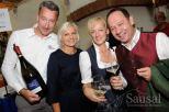 Peter Keller, Martina Aldrian, Marianne und Gerald Liebminger (Foto Weinbauverein Sausal)