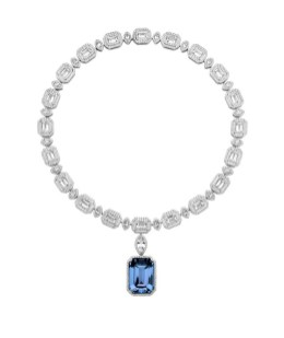AS by Penelope Cruz_Necklace_Blue Created Sapphire (Foto Atelier Swarovsky)