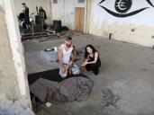 Mathias Kniepeiss Stunt & Photography Masterclass-Workshop - Bernadette Kizik und Joe Tödtling (Foto Hedi Grager)