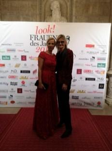 look! Woman of the Year Gala 2018 - Journalistin und Bloggerin Hedi Grager mit BM Juliane Bogner-Strauß (Foto privat