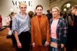 Susann Atwell und Christiane Paul und Tamara von Nayhaußbeim beim VOGUE Salon im Januar 2019 in der Villa Elisabeth, Berlin (Foto Sascha Radke für VOGUE Germany)