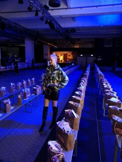Marina Hoermanseder Fashion Show - Berlin Fashion Week 2019 - Franziska Knuppe (Foto Hedi Grager)