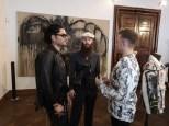 Rudolf Budja Galerie Salzburg: Enrique Fuentes, Kristoffer Simonsen und Alessandro Painsi (Foto Hedi Grager)