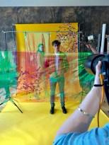 'Behind the Scenes' beim Shooting für die 2. Ausgabe des Aiola Living Magazins (Foto AIOLA)
