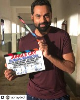 Präsentation Film Trailer of Jungle Cry during the Cannes Film Festival - Abhay Deol (Photo Jungle Cry)
