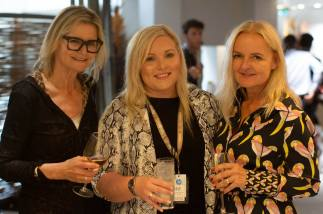 French Riviera Film Festival (FRFF) - Hedi Grager, Linzi Wilson and Susanne Baumann-Cox (Photo FRFF)