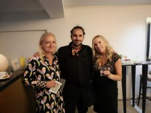 French Riviera Film Festival (FRFF) - Susanne Baumenn-Cox, Amir Zargara and Allison Melody (Photo Reinhard Sudy))