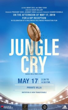 Präsentation Film Trailer of Jungle Cry during the Cannes Film Festival