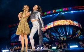 Die Spice Girls tragen auf ihren Live Shows Swarovski Kristalle (Foto Andrew Timms)